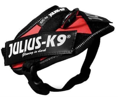 julius-k9 harnas rood