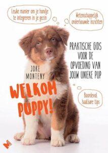 Welkom puppie boek