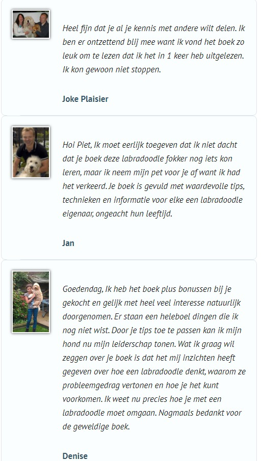 reviews over het e-book van de labradoodle