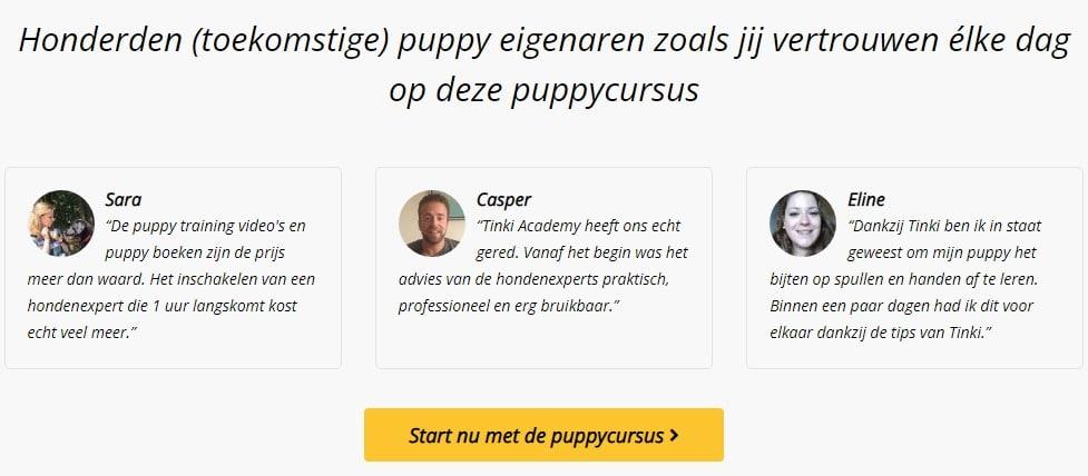 reviews online puppy cursus